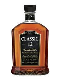 Canadian Club 12 year old. New package just released.