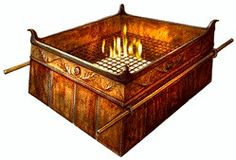 The Brazen Altar an altar  made to sacrafice clean animals we're the only ones…
