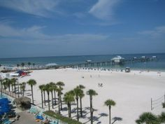 Clearwater Beach, FL This is such a perfect and pristine beach….warm, calm clear water and lots of shells! Family Vacation Spots, Florida Vacation, Vacation Places, Places To Travel, Vacations, Clearwater Beach Florida, Florida Beaches, Sandy Beaches, Great Places