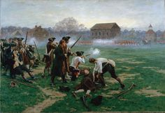 The US Battle for Independence | The Battle of Lexington, 19 April 1775