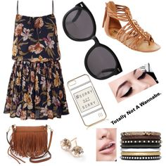 A fashion look from March 2015 featuring Jolie Moi dresses, Arizona sandals and Rebecca Minkoff shoulder bags. Browse and shop related looks.