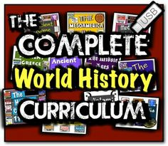 Complete World History Curriculum! Every World History Resource! High School World History, World History Lessons, Study History, History Education, Teaching History, 6th Grade Social Studies, Social Studies Classroom, Social Studies Resources, History Classroom
