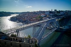 There are several reasons to visit Porto. Here are my tips for a pleasant visit to the city along the Douro. Portugal, Sydney Harbour Bridge, Strand, City, Highlights, Travel, Porto, Europe, Port Wine