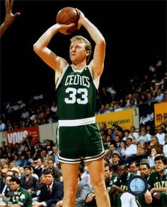 Greatest basketball player ever...Larry Bird