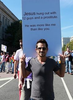 If I ever march... this will be my sign