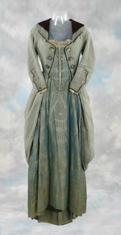 Vintage Riding Dress and Coat - I want to make a modern day version of this coat!!
