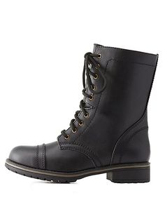 Love Lace-Up Combat Boots. Perfect to wear with some jeans.