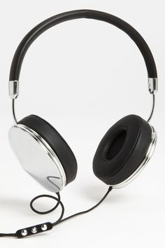 Taylor Over-Ear Silver/Black Headphones by FRENDS on @nordstrom_rack
