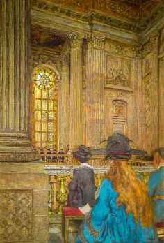 Edouard Vuillard - The Chapel at the Chateau of Versailles, 1919 at Musée d'Orsay Paris France