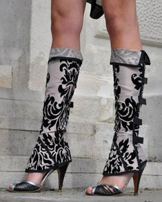 Check out our women's clothing selection for the very best in unique or custom, handmade pieces from our shops. Fashion Socks, Fashion Outfits, Womens Fashion, Weihnachten In London, Steampunk Shoes, Fashion Online Shop, Neue Outfits, Fantasy Dress, Fashion Line