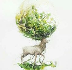 Fabulous Watercolor Paintings by Luqman Reza Mulyono - Jongkie, Indonesian Artist