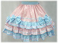 Candy Pop Skirt by Angelic Pretty Little Girl Skirts, Little Girl Dresses, Girls Dresses, Harajuku Fashion, Kawaii Fashion, Lolita Fashion, Toddler Fashion, Kids Fashion, Bloom Fashion