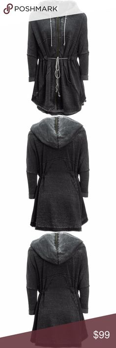 Free People Peace It Up Hoodie Cardigan size M Material60% cotton, 40% polyester Size M Free People Tops Sweatshirts & Hoodies