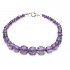 Splendetteb Miss Victory Violet Lilac Glitter Beads