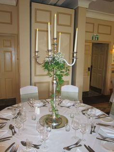 DIY candelabra floral ivy - Google Search