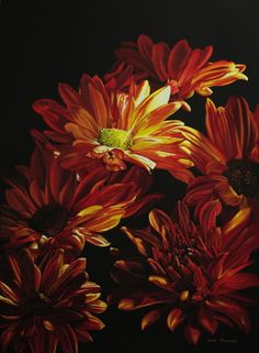 Floral Pastel Paintings by Bette Phillips, Artist