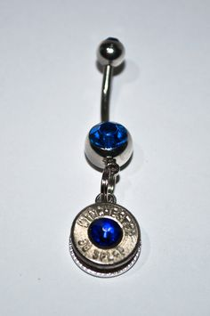 Hey, I found this really awesome Etsy listing at http://www.etsy.com/listing/127697717/glitz-your-hitch-cobalt-blue-belly-ring