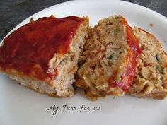 Turkey Meatloaf has all those wonderful flavors but without the guilt!!  A dried veggie soup mix adds additional nutrients.