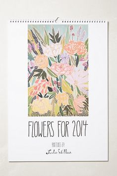 Just ordered.  Twelve months of Lulie Wallace prints, yes please.  Anthropologie $20