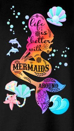 Mermaid Wallpaper For Your Phone Mermaid Wallpapers, Mermaid Pictures, Mermaid Wallpaper Iphone, Unicorns And Mermaids, Wallpaper Iphone Cute, Wallpaper, Mermaid Background, Mermaid Dreams, Mermaid Lover