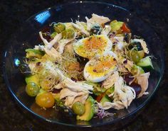 Roast chicken salad