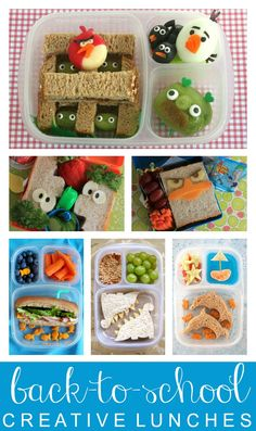 Link Party with 10 Back to School LunchBox Ideas