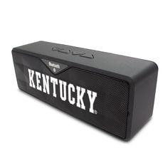 University of Kentucky V2 Black Bluetooth Sound Box, Classic