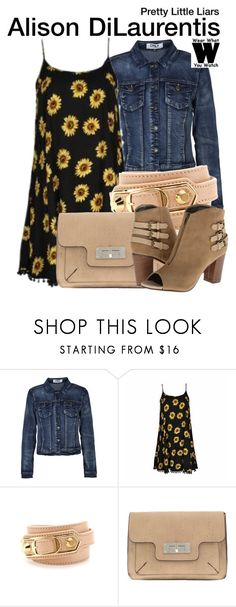 """""""Pretty Little Liars"""" by wearwhatyouwatch ❤ liked on Polyvore featuring ONLY, Ally Fashion, Balenciaga, Parfois, Michael Antonio, television and wearwhatyouwatch"""