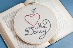 Embroidery by CleverApple on Etsy
