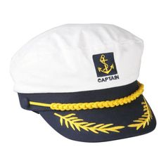 #Sailor ship boat #captain hat navy marins admiral #adjustable cap white s6,  View more on the LINK: http://www.zeppy.io/product/gb/2/221647697020/