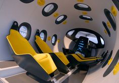 Astrium Space Jet Interior (Marc Newson)