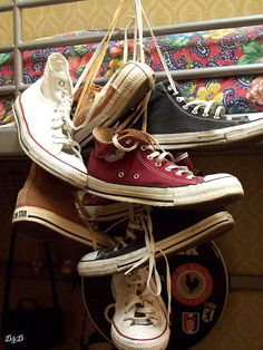 My wife can do whatever she wants for our wedding. I don't care. But dag nab it, I will be wearing low top converses!