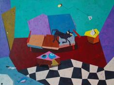 "Saatchi Art Artist Indrajeet Chandrachud; Painting, ""Waiting For The Thaw"" #art"