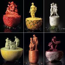 arte en frutas y verduras - será esto posible?