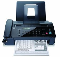 The HP 2140 Professional Quality Plain-paper Fax and Copier is simple to use with efficient one-touch button for quick access to reports, system set up and tools. Save desktop space with a small footprint and compact. Printer Scanner Copier, Paper Tray, Hp Officejet, Office Phone, Landline Phone, Technology, Electronics, Tools, Gourmet