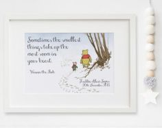Personalised new baby boygirl winnie the pooh nursery birth name personalised new baby boygirl winnie the pooh nursery birth name print keepsake picture christening gift negle Image collections