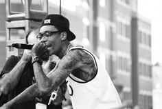 Rapping | Wiz Khalifa rapping