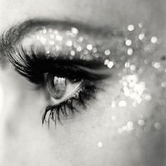 Luv the lashes....and  sparkle!