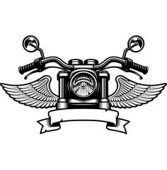 coloring pages - Motorcycle Logo 5 Handle Bars Wings Bike Biker Chopper Mechanic Service Shop Banner SVG EPS PNG Clipart Vector Cricut Cut Cutting File Biker Tattoos, Motorcycle Tattoos, Motorcycle Logo, Women Motorcycle, Dirt Bike Tattoo, Harley Tattoos, Motorcycle Wedding, Motorcycle Types, Motorcycle Jacket