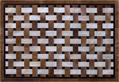 Diseño KIARA CARAMEL en cuero premium argentino ::: Design Carpets Alfombras :::