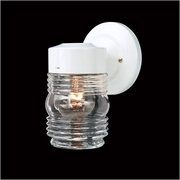 $12 Thomas Lighting  Wall Sconce in White