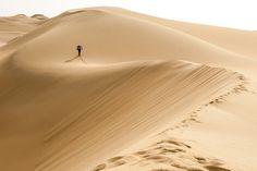 in the Taklamakan desert, China