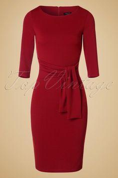 Vintage Chic 50s Victoria Pencil Dress 100 20 19487 20160909 0005W