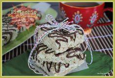 Pistachio Rice Krispie Treats: add a box of Pistachio #JELLO pudding mix to give your treats a fun twist on flavor