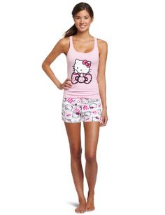 06b7b8bc95 Hello Kitty Women s Short Set « Clothing Impulse