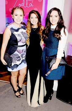 Zoe's launch party with Gabriella Lindley and Tanya Burr