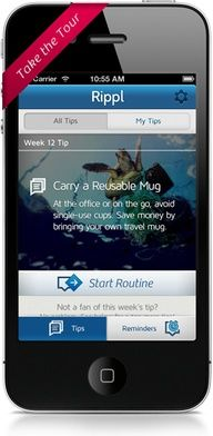 Free iOS App Rippl will save the seas while helping you live sustainably - from Ocean Conservancy