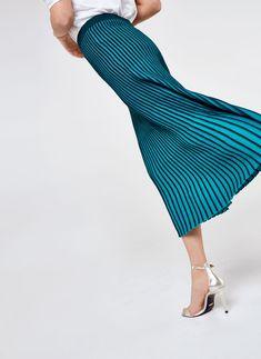 Falda acanalada bicolor - Ver todo - Última semana - Uterqüe España