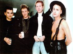 Martin Gore must be warm blooded.