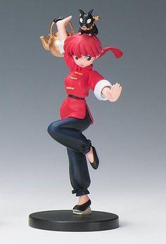 Ranma 1/2 Saotome Girl Ver. Figure It's Rumic World Kaiyodo JAPAN ANIME MANGA